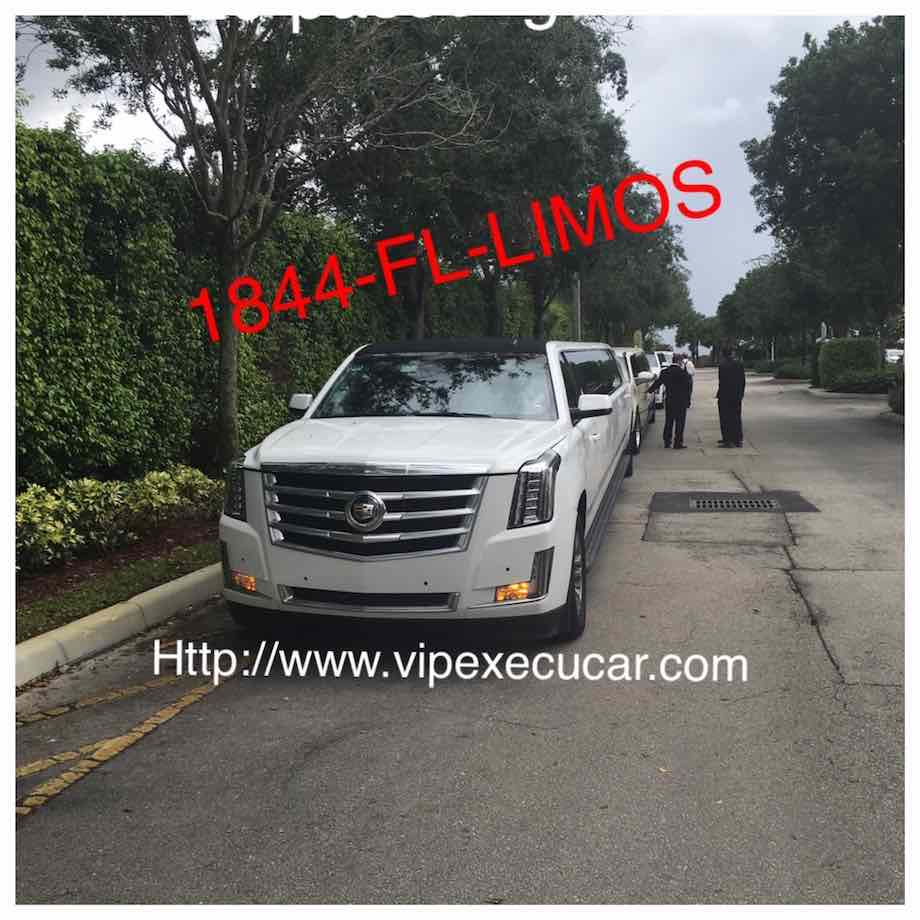 Fort Lauderdale, FL cadillac escalade limo services