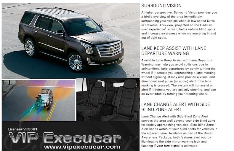 Boca Raton 2018 Cadillac Escalade SUV Stretch Limo
