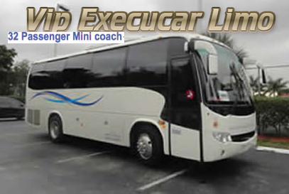 32 Passenger Charter Bus Rental Boca Raton
