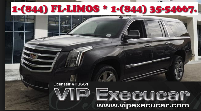Cadillac Escalade Limo in Fort Lauderdale for Rent