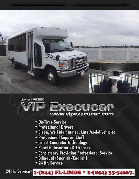 Charter Bus Boca Raton FL