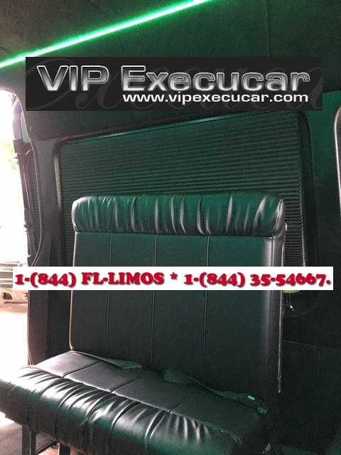 10/15 Passenger Van - Miami Limo Services : 10/15 Passenger Van for music concerts